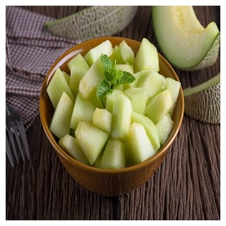 Honey Dew Green Melon (Cucumis melo)