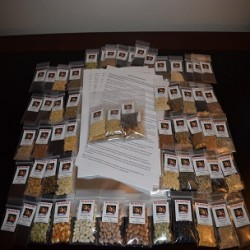 63 VARIETY PREPPERS Heirloom Seed Package