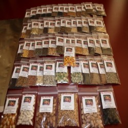 62 VARIETY GARDEN Heirloom Seed Package