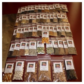 64 VARIETY GARDEN Heirloom Seed Package