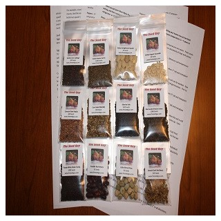 12 VARIETY GARDEN Heirloom Seed Package
