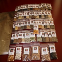 60 VARIETY Heirloom Seed Package