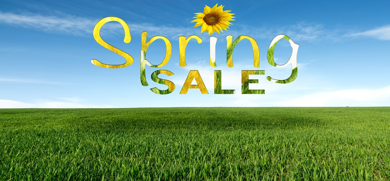 SPRING SALE GOING ON RIGHT NOW!!